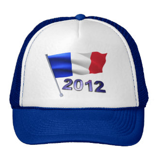 2012 with French flag Hats