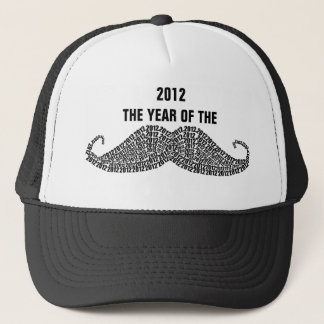 2012 Year of The Mustache Trucker Hat
