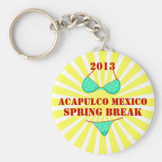 2013 Acapulco Spring Break Souvenir Keychain