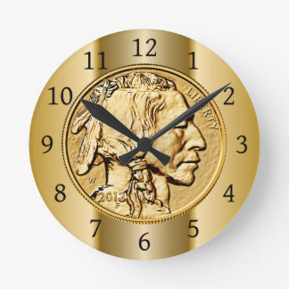 2013 American Buffalo Gold Coin ~ Native American Clock