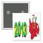 2013 banner pulled by Santa Claus