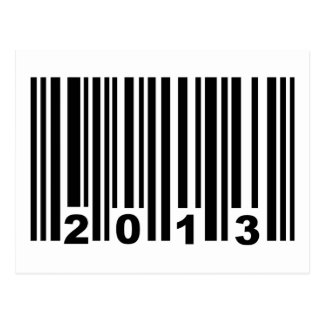 2013 barcode postcards