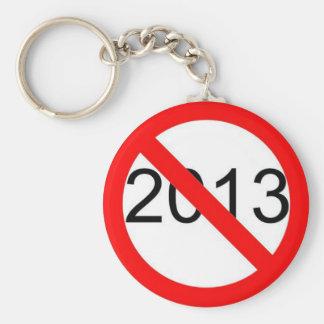 2013 BASIC ROUND BUTTON KEY RING