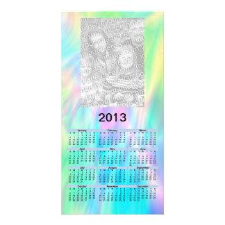 2013 Calendar Card - pastel Custom Photo Card