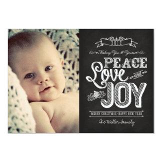 2013 CARD LINK BELOW | Chalkboard Peace, Love 2012 Announcements