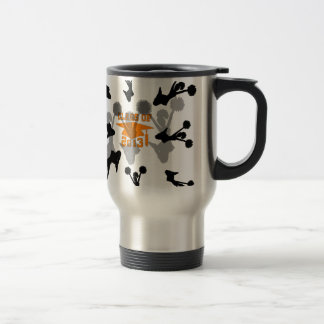 2013 Cheerleader graduation Orange Coffee Mugs