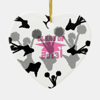 2013 Cheerleader graduation Pink Ornament