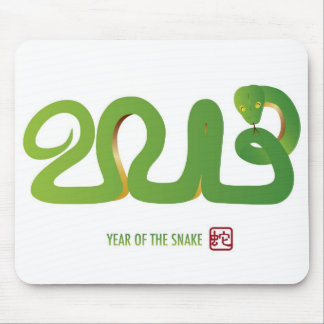2013 Chinese New Year Snake Mousepad