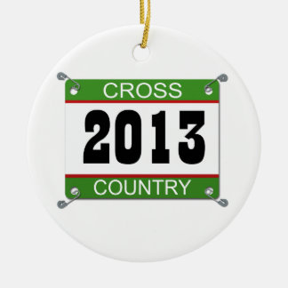 2013 Cross Country Ornament
