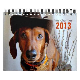 2013 Dachshund Calendar - tiny chumley
