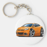 2013 Dodge Dart Orange Car Key Chain