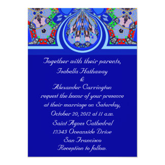 2013 Gorgeous Blue Personalized Party Invitations
