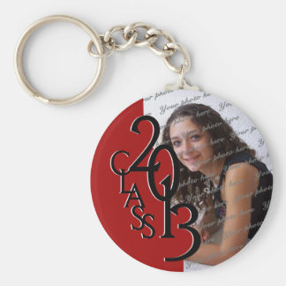 2013 Graduation Keepsake Basic Round Button Key Ring