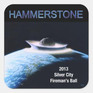 2013 Hammerstone Band Sticker