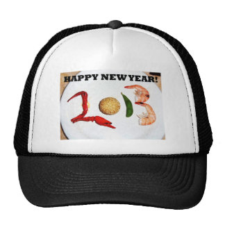 2013 happy new year asian chinese cap