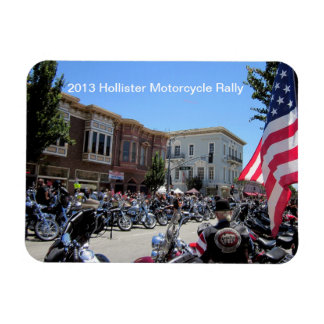 2013 Hollister Motorcycle Rally Rectangular Magnets