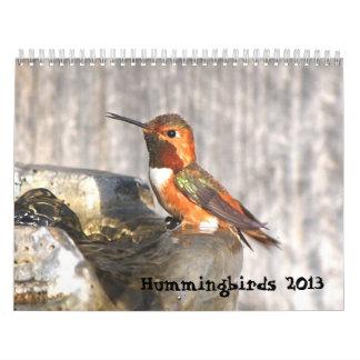 2013 Hummingbird Calendar