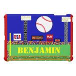 2013 Kids Sport Baseball Personalised iPad Cover