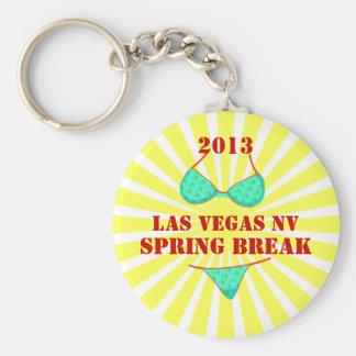 2013 Las Vegas Spring Break Souvenir Keychain