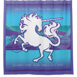 2013 Mink Nest Inspirational Unicorn Curtain Purpl