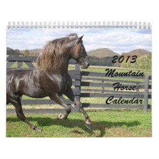 2013 Mountain Horse Calendar