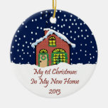 2013 My New Home Christmas Christmas Ornament