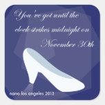 2013 NaNoLA - Cinderella Midnight Stickers