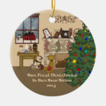 2013 New Home Christmas Fireplace Christmas Ornaments