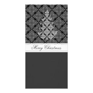 2013 Ornate Luxury  Christmas Tree Customized Photo Card