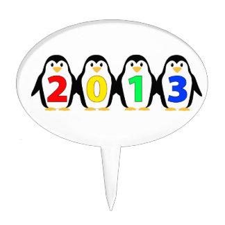 2013 penguins cake picks