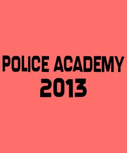 2013 Police Academy Graduation T-shirts