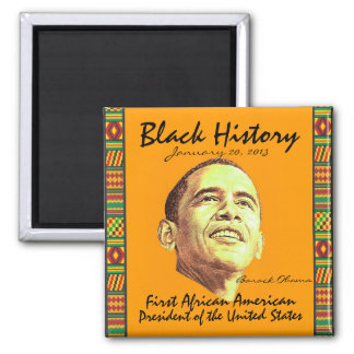 2013 Presidential Inauguration Square Magnet