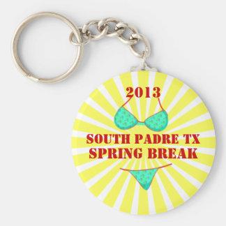 2013 South Padre Spring Break Souvenir Keychain