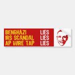 2013 Summer of Scandal Car Bumper Sticker