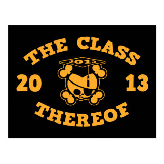 2013 - The Class Thereof Postcard