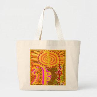 2013 ver. REIKI Healing Symbols Tote Bag