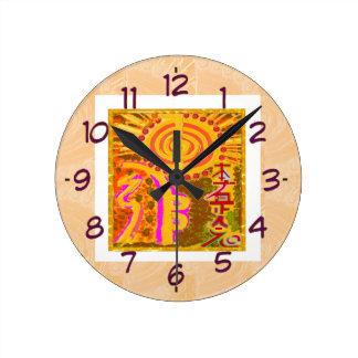 2013 ver. REIKI Healing Symbols Clocks
