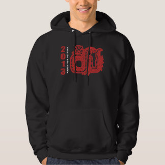2013 Year of The Snake Paper Cut Hoodie