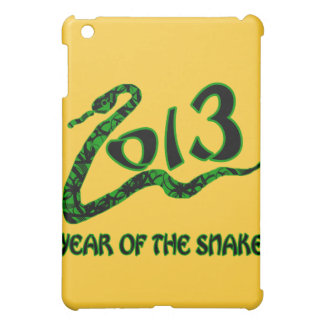 2013 Year of the Snake with Green Snake iPad Mini Cases