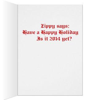 2013 Zippy Christmas Card