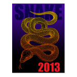 2013snake(a) 葉書き