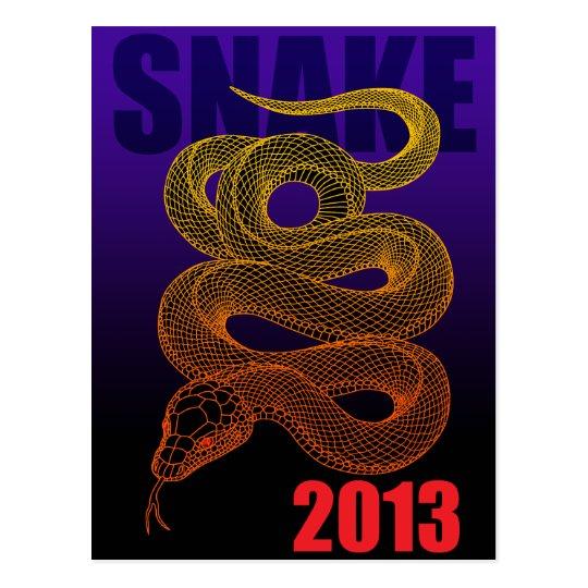 2013snake (a) postcard