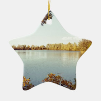 2014-11 Paxton Pit Nature Reserve.jpg Christmas Ornament