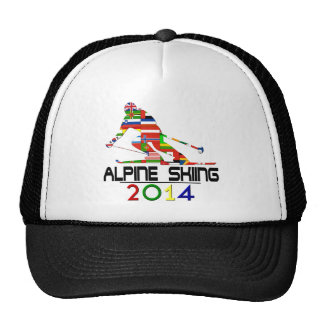 2014: Alpine Skiing Mesh Hats