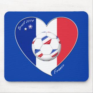 2014 Bandera de FRANCIA FÚTBOL campeón del mundo Alfombrilla De Ratones