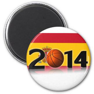 2014 Basketball World Championship 6 Cm Round Magnet
