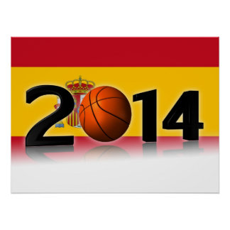 2014 Basketball World Championship Print