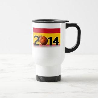 2014 Basketball World Championship Stainless Steel Travel Mug