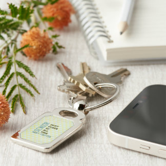 2014 Best Class Rectangle Premium Metal Keychain Silver-Colored Rectangle Key Ring