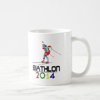 2014: Biathlon Basic White Mug